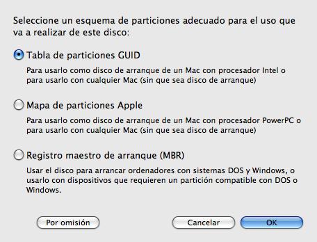 Grabar una imagen de disco en un disco duro externo
